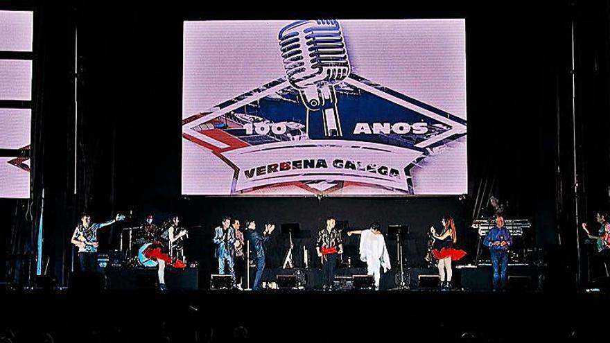 A TVG, chea de música os venres con '100 anos de verbena galega'