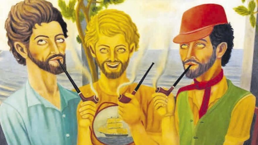 El pintor del barranco de Tenisca