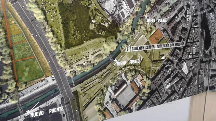 El proyecto Murcia Río recoge tres nuevos puentes peatonales