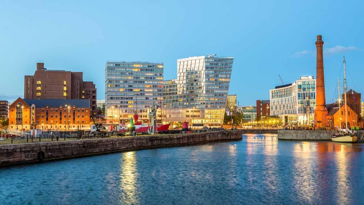 El port de Liverpool