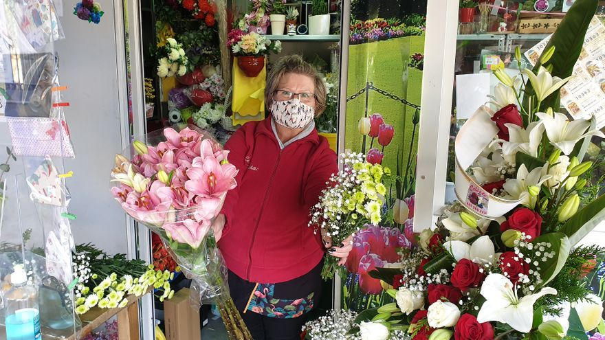 Las floristerías están expectantes ante la mayor campaña del año