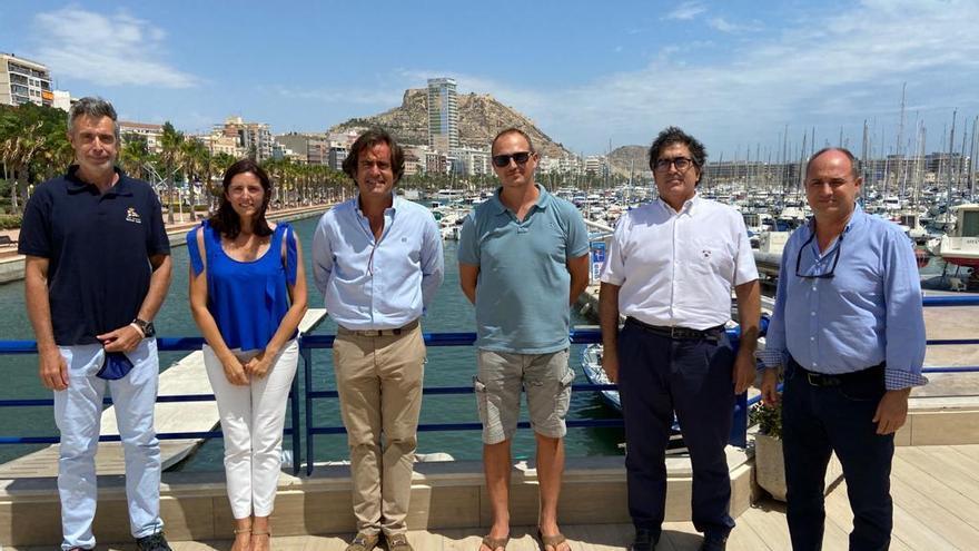 La liga nacional de remo se presenta en Alicante