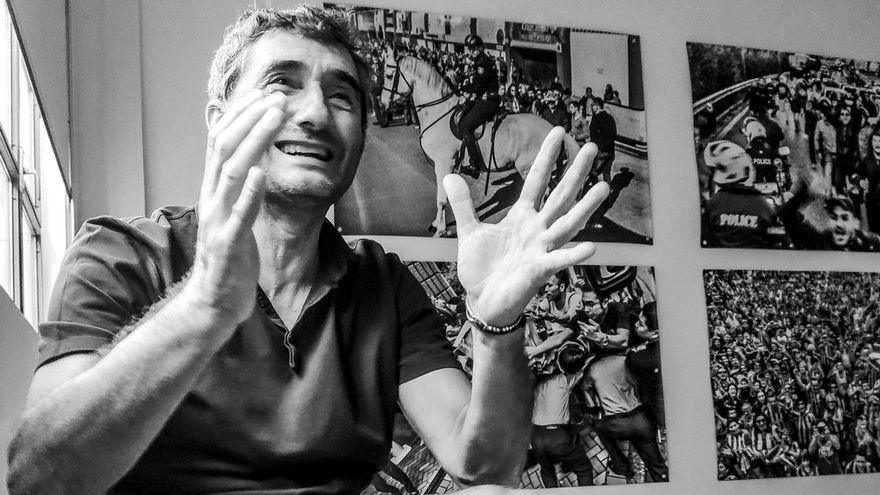 La nueva vida de Ernesto Valverde, el fotógrafo que se hizo entrenador