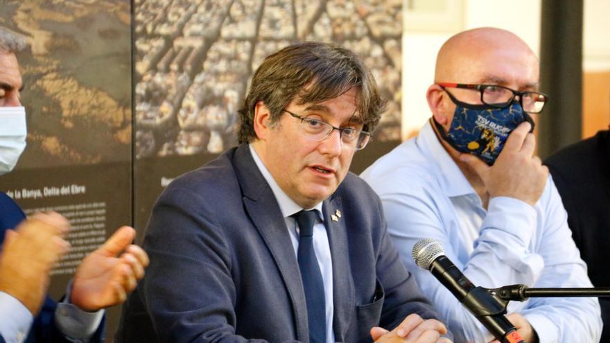 Puigdemont agraeix el suport de l'independentisme sard i promet la solidaritat de Catalunya