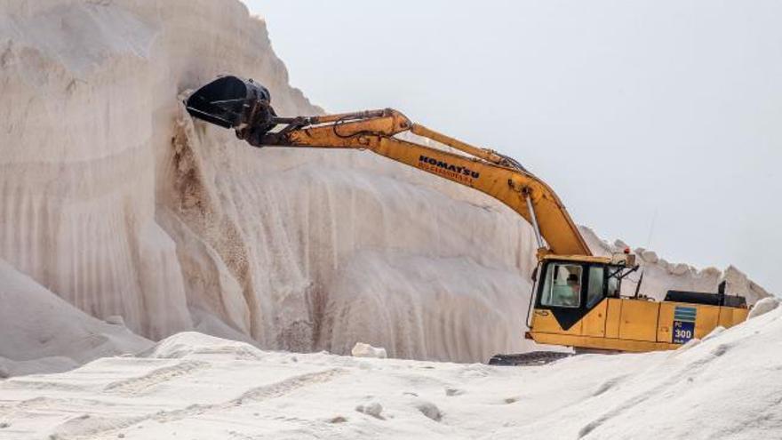 Torrevieja distribuye 500 toneladas al día de sal para hacer frente al temporal
