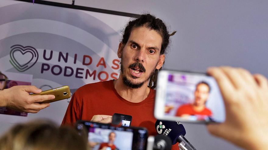 El Supremo abre la vía penal contra el diputado tinerfeño Alberto Rodríguez