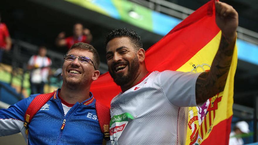 Kim López consigue la primera medalla de oro para España