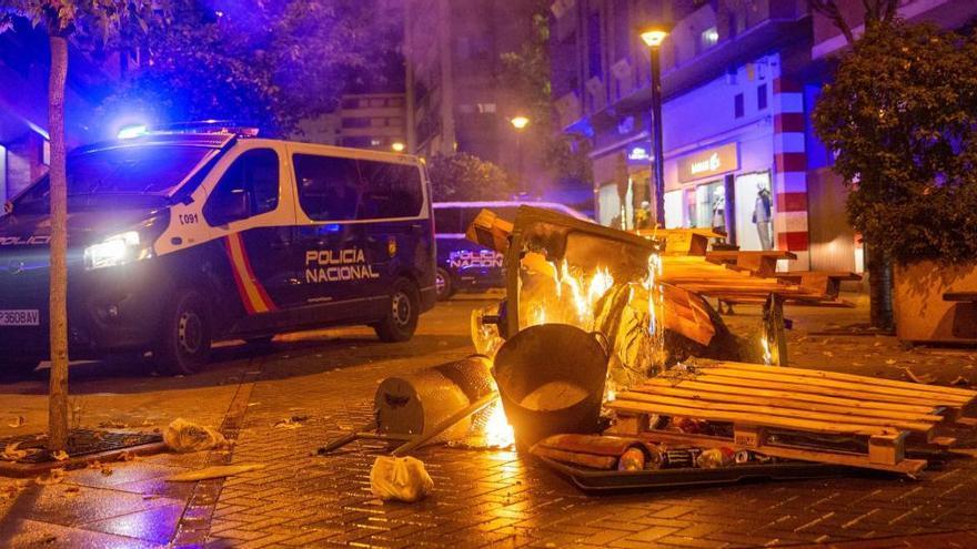 La Policía no ve una organización nacional de protestas