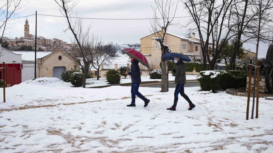 El tiempo en Valencia: dónde habrá nieve este fin de semana