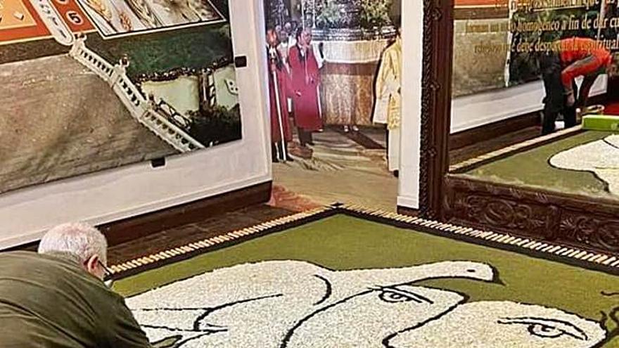 Las alfombras de flores vuelven a la Villa