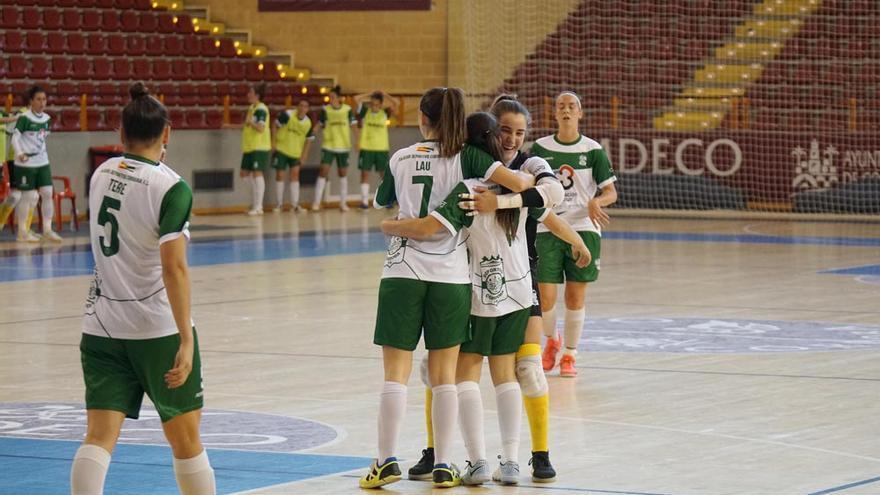 El Cajasur Deportivo regresa a la liga con una goleada ante La Algaida