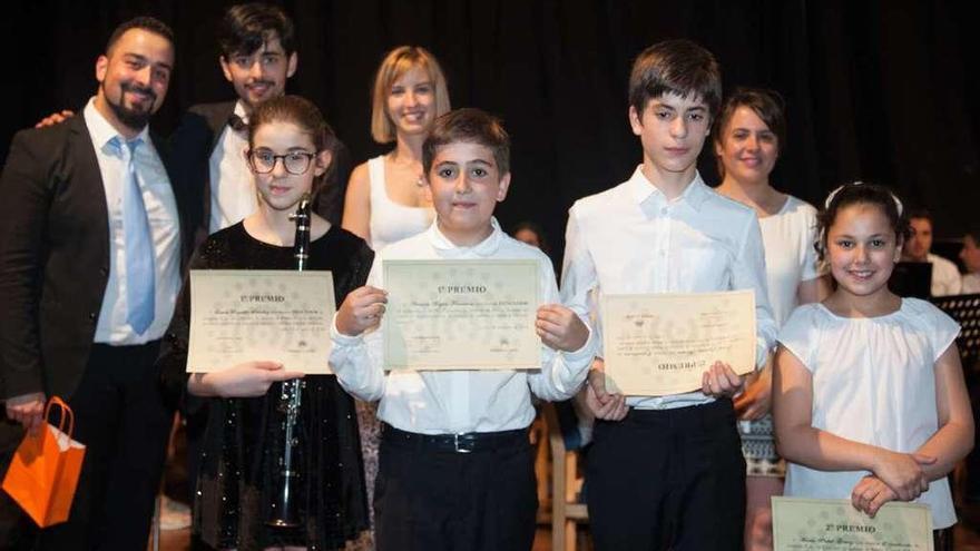 Antonio Buján y Laura Regadío ganan el III Concurso de Solistas