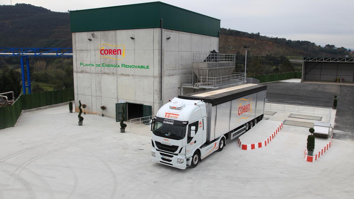 Planta de Energía Renovable para el tratamiento de biomasa ganadera, actualmente en fase de ampliación.