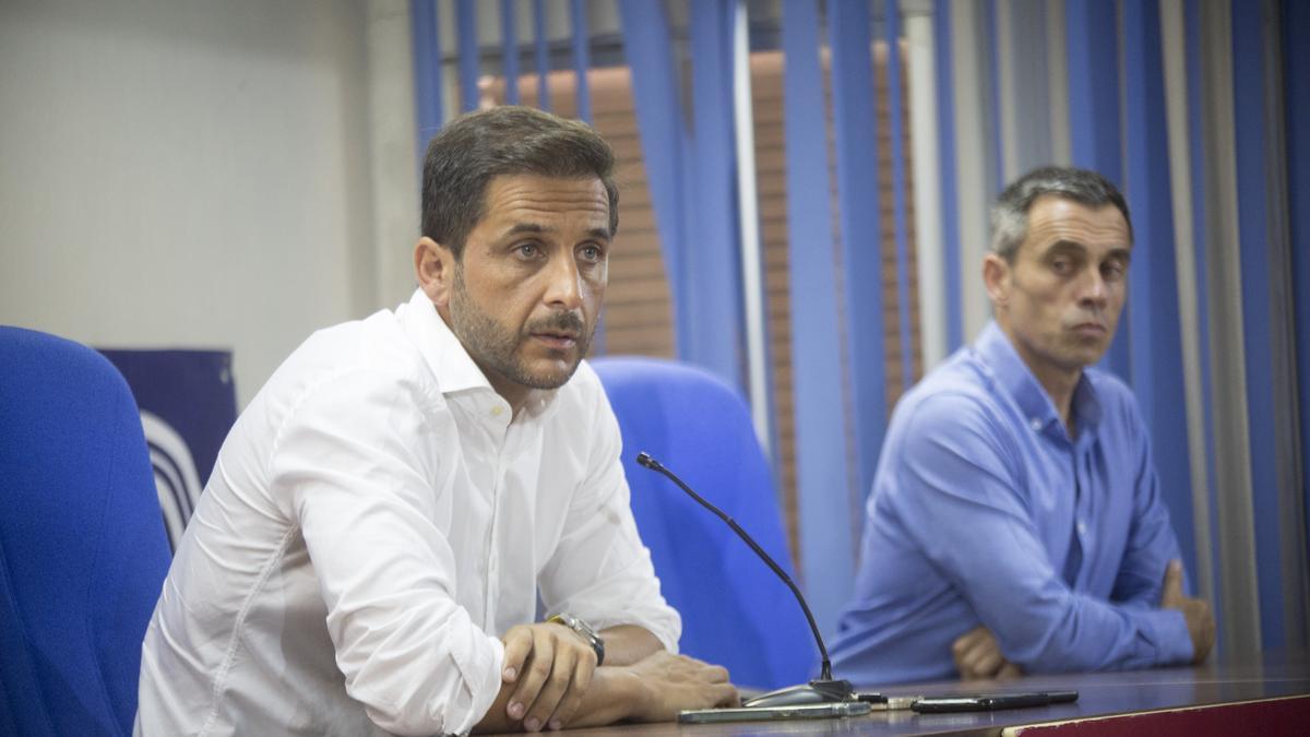 Sergio Mora y Carmelo del Pozo