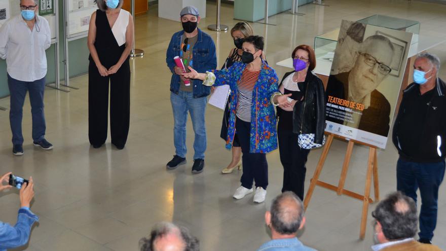 """Un homenaje al """"sembrador del teatro en Cangas, O Morrazo y Galicia"""""""