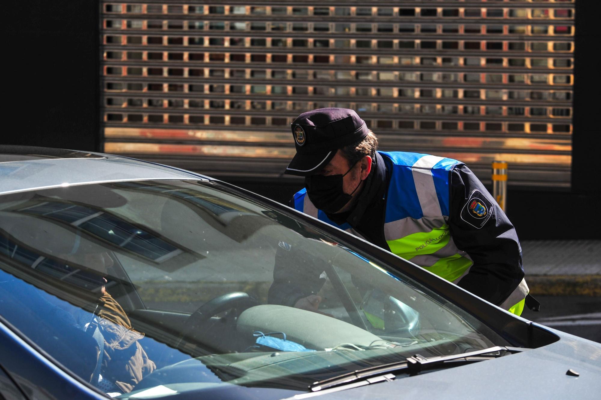 Control policia local O Grove