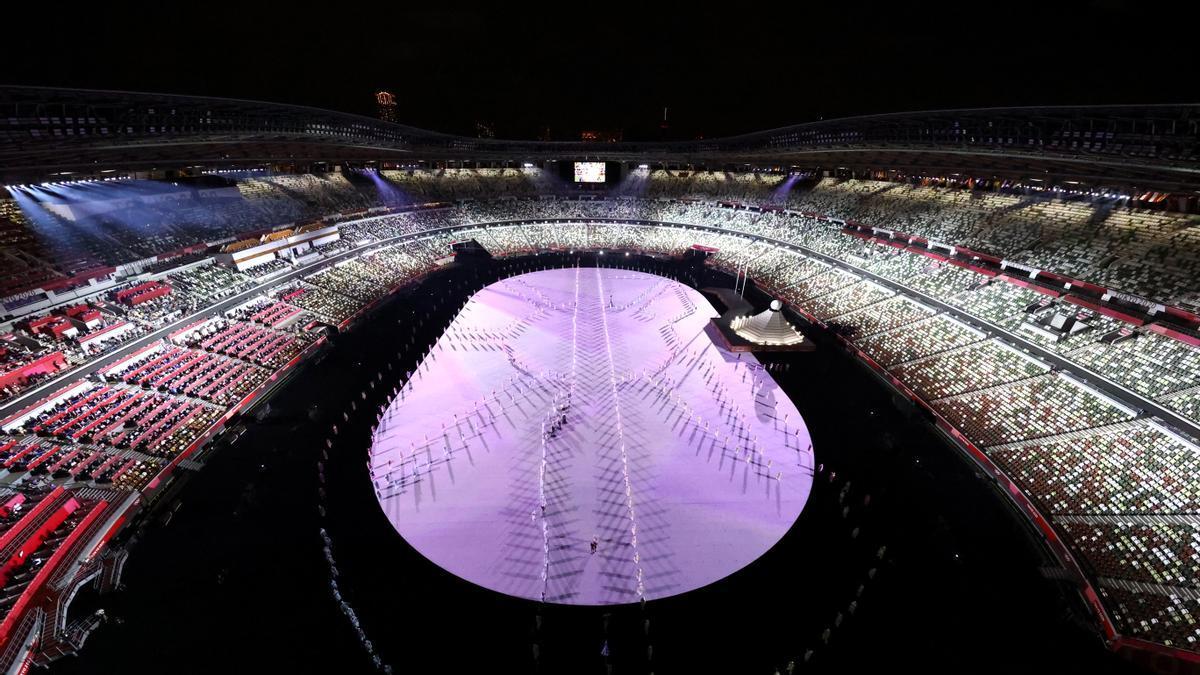 Ceremonia de inauguración de los Juegos Olímpicos de Tokio