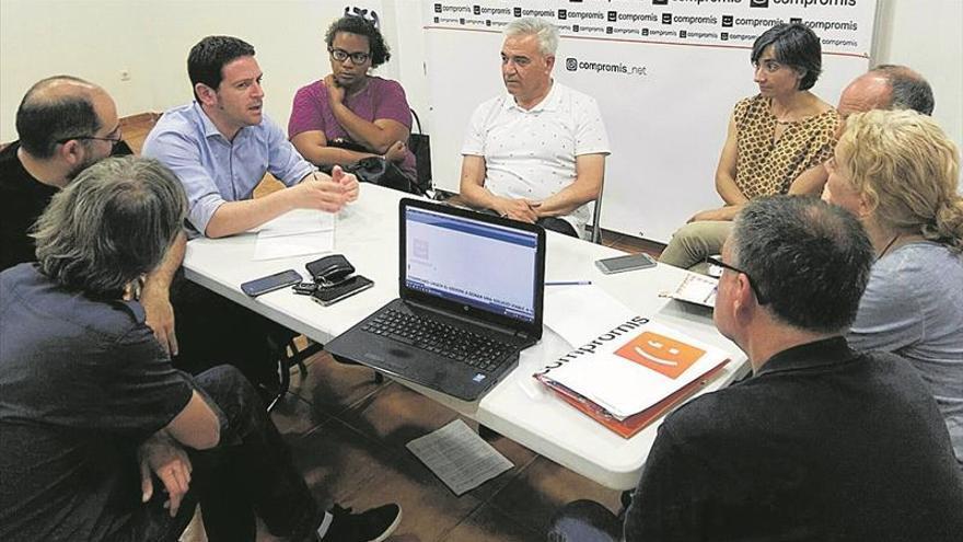 Compromís presiona a Marco para desbloquear el colector de Borriol
