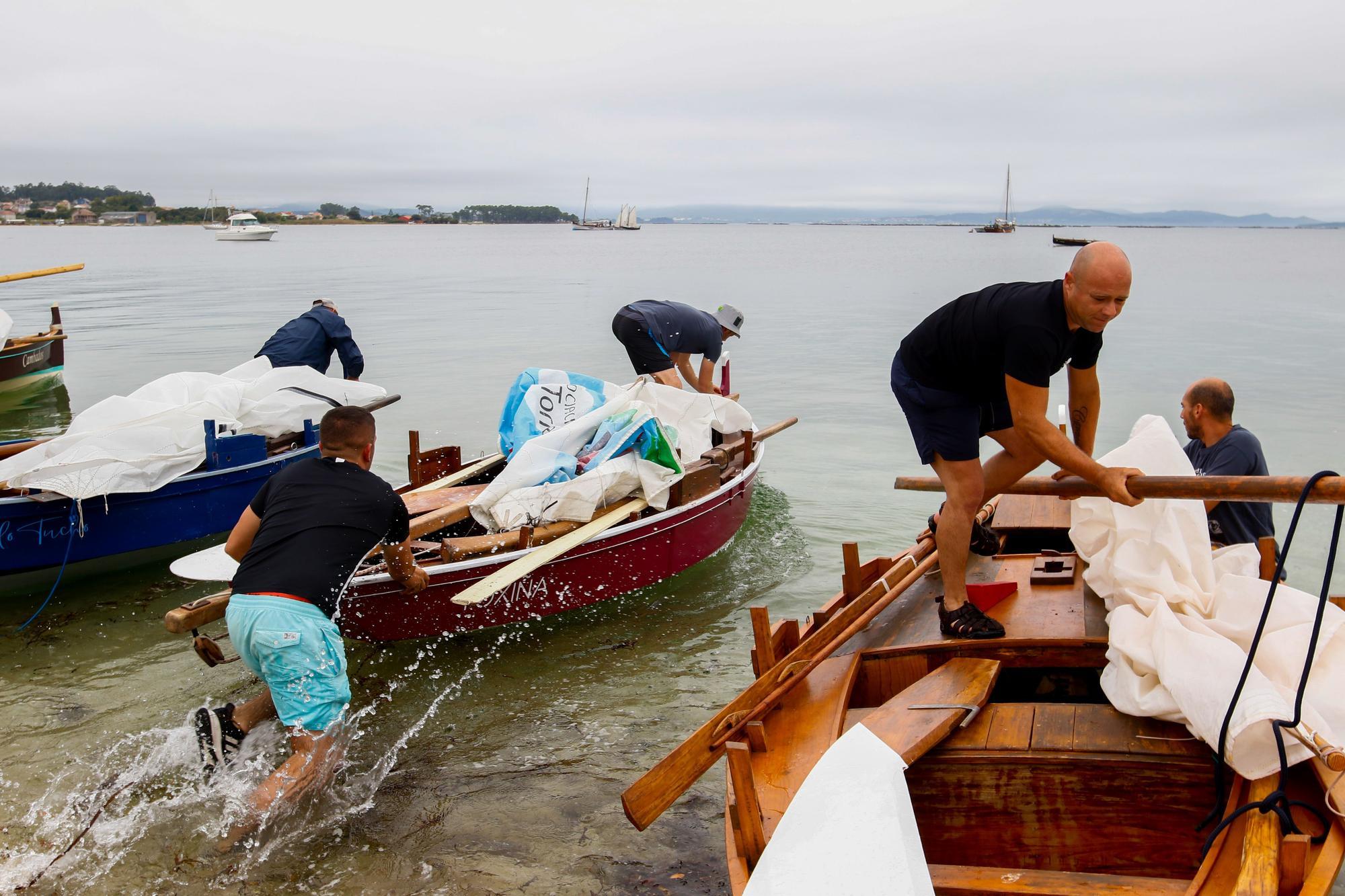 """Pereka"" reina en las aguas isleñas de O Bao"