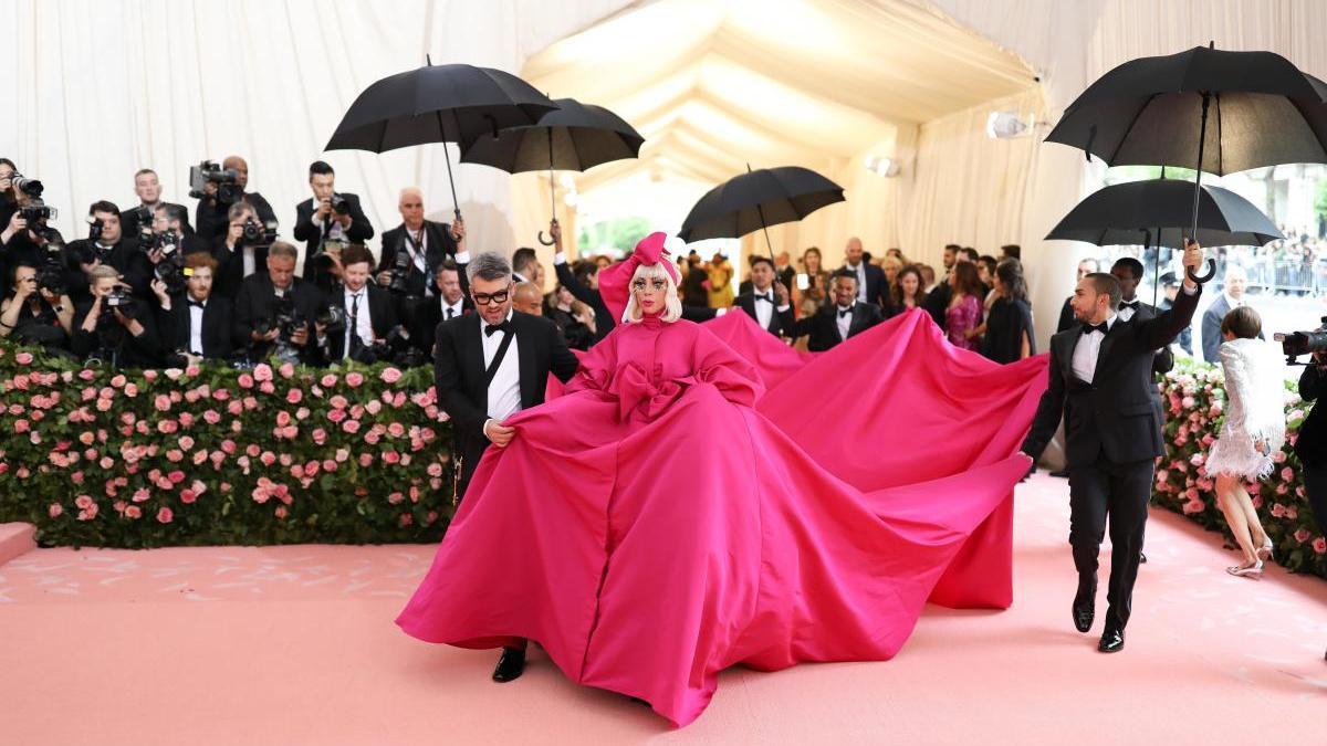 Una imagen de Lady Gaga en la gala MET.