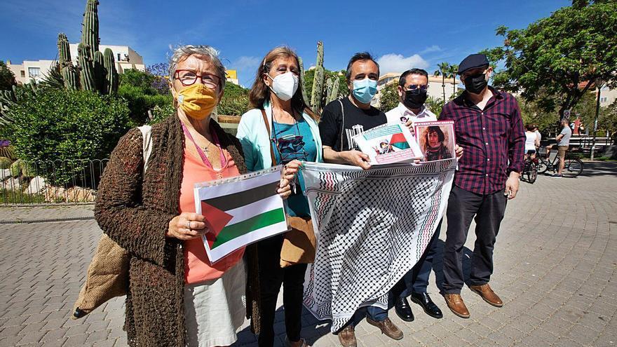Vara de Rey acoge esta tarde una concentración solidaria con el pueblo palestino