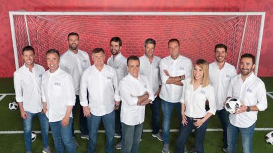 María Gómez es la novedad de Mediaset para retransmitir el Mundial de Rusia