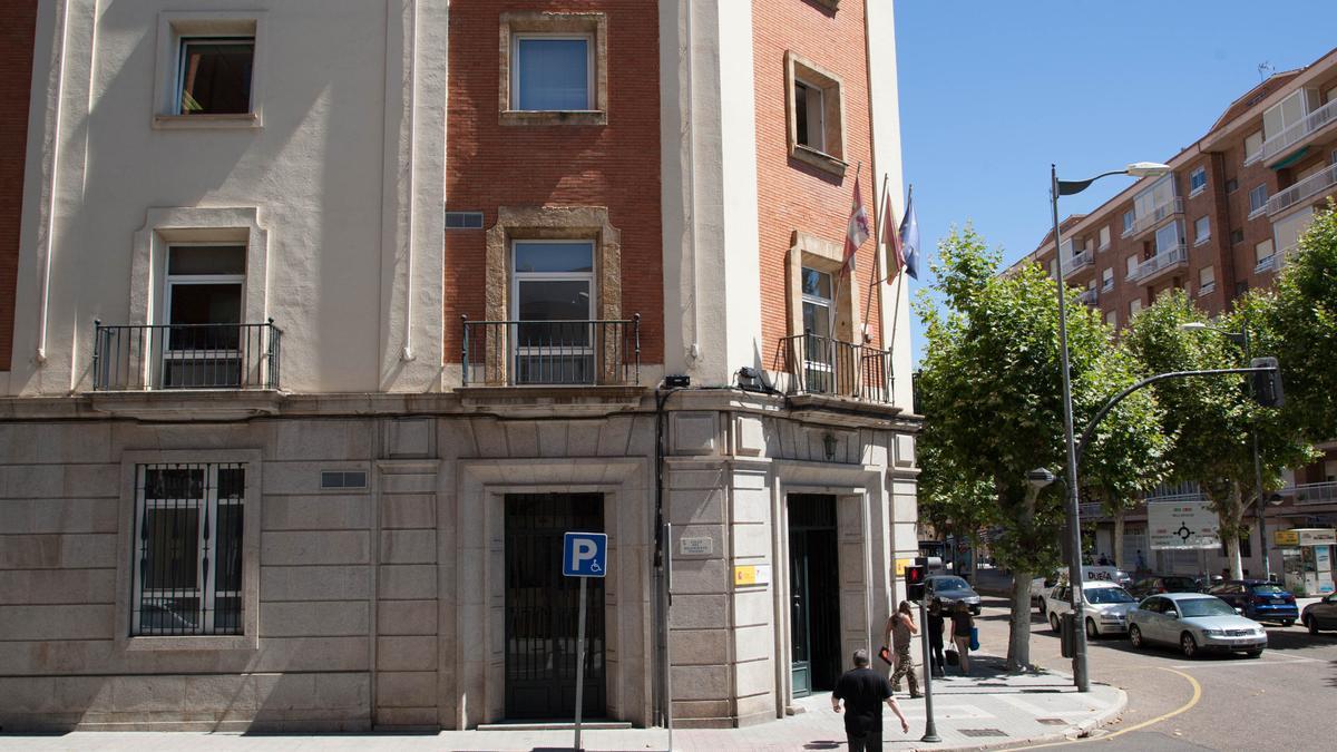 Sede del Instituto Nacional de la Seguridad Social (INSS) en Zamora