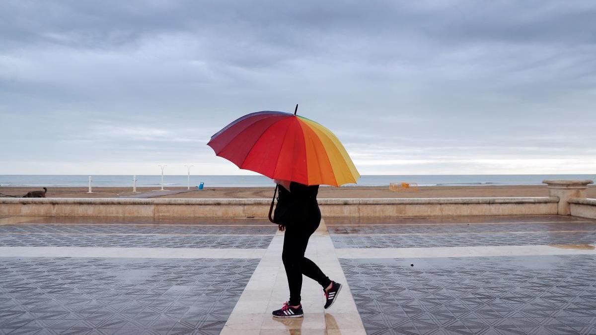 El tiempo en Valencia el fin de semana anuncia lluvias y tormentas.