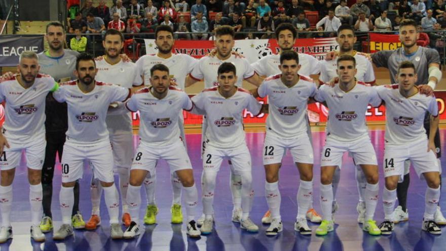 ElPozo se enfrentará a Kairat, Benfica y Pésaro en Kazajistán