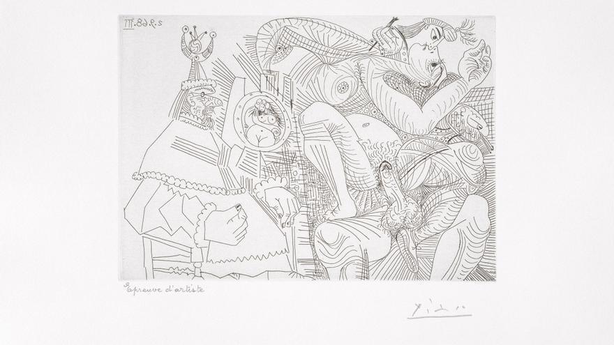 Grabados de Picasso viajan de València a Trento para una muestra