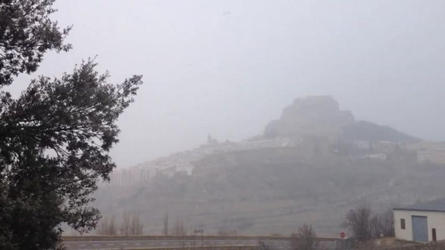 Nieve y frío en la provincia de Castellón