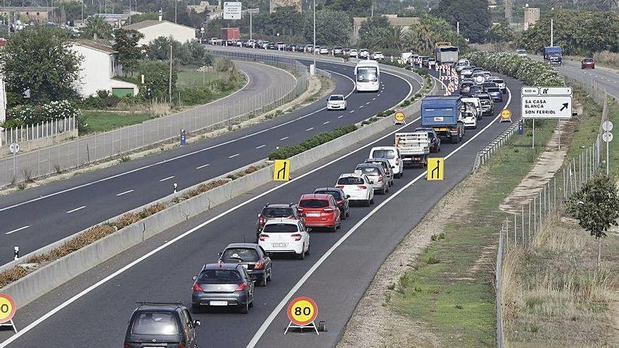 La carretera de Manacor costó 140 millones y se pagarán 550
