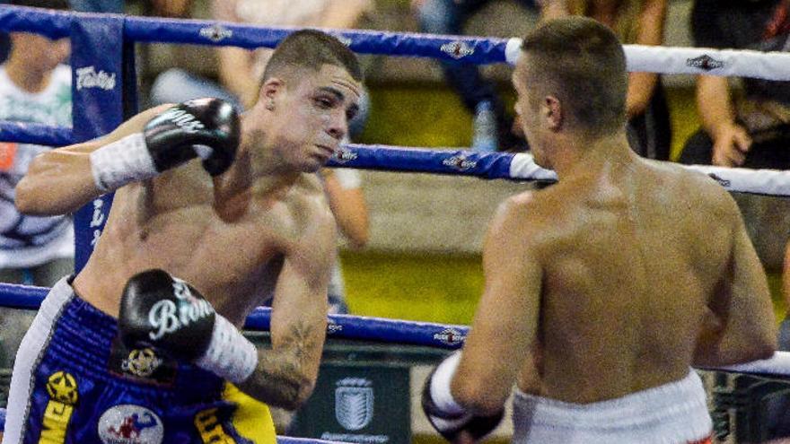 'Canelito' Peñate boxeará el sábado en Copenhague