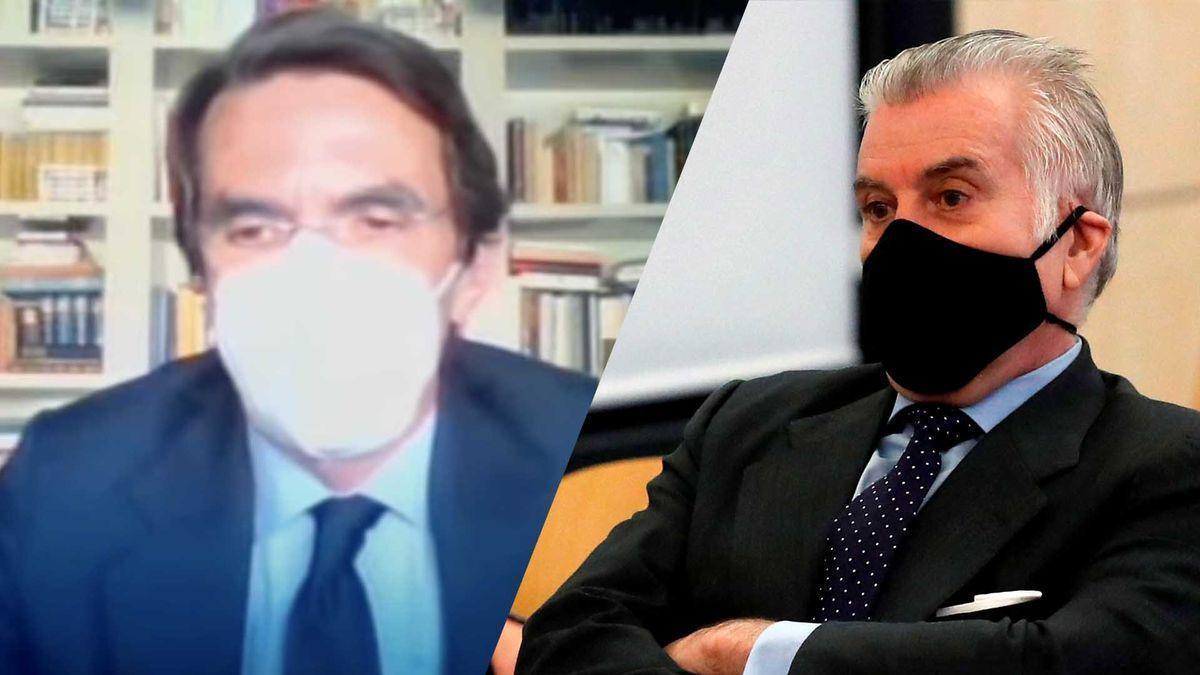 Aznar y Rajoy hacen piña para negar la caja b y culpar de todo a Bárcenas