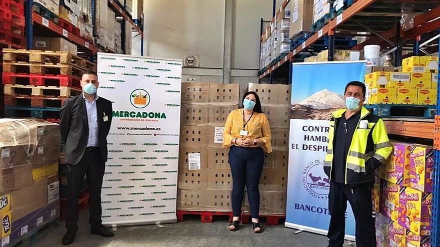 Mercadona dona más de 17.000 toneladas de alimentos a entidades sociales