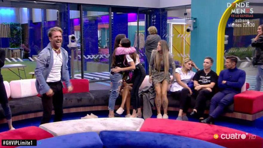 'GH VIP 7': Hugo Castejón se salva de la expulsión y Mila Ximénez enferma del disgusto