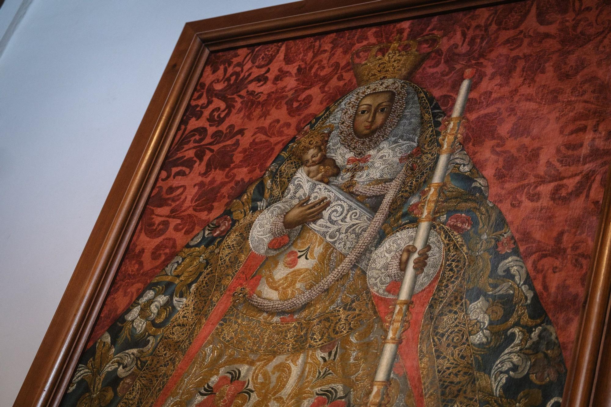 Obras de restauración en el Cristo