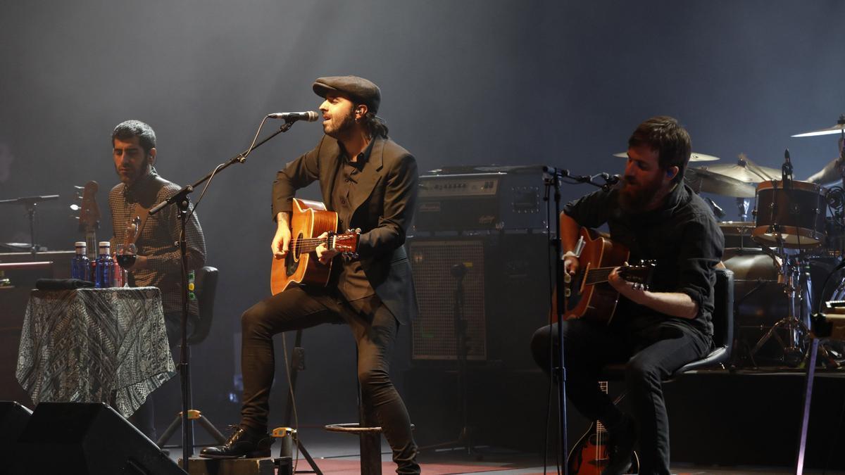 """""""Sidecars"""", en un concierto en Gijón"""