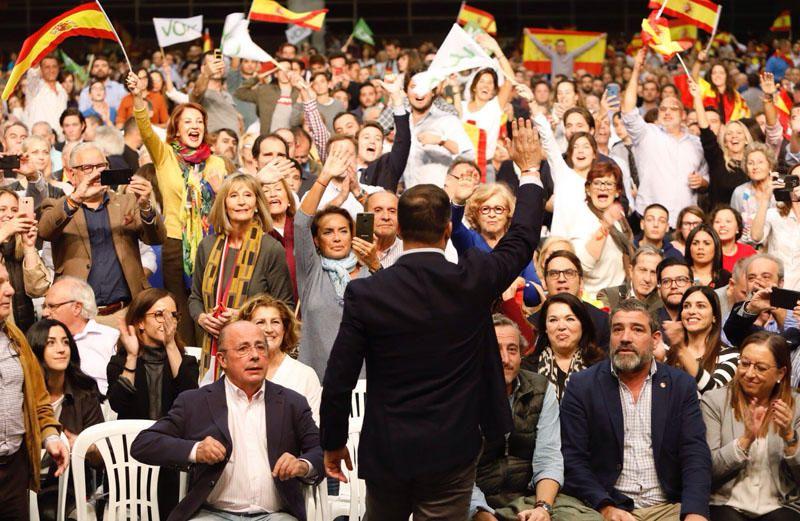 Mitin de Abascal en València