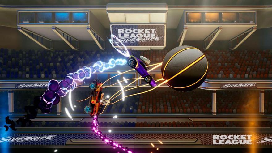 Una imagen de 'Rocket League '.