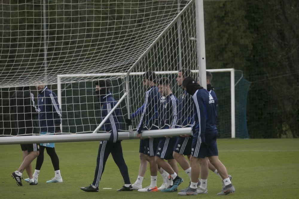 Entrenamiento del Real Oviedo