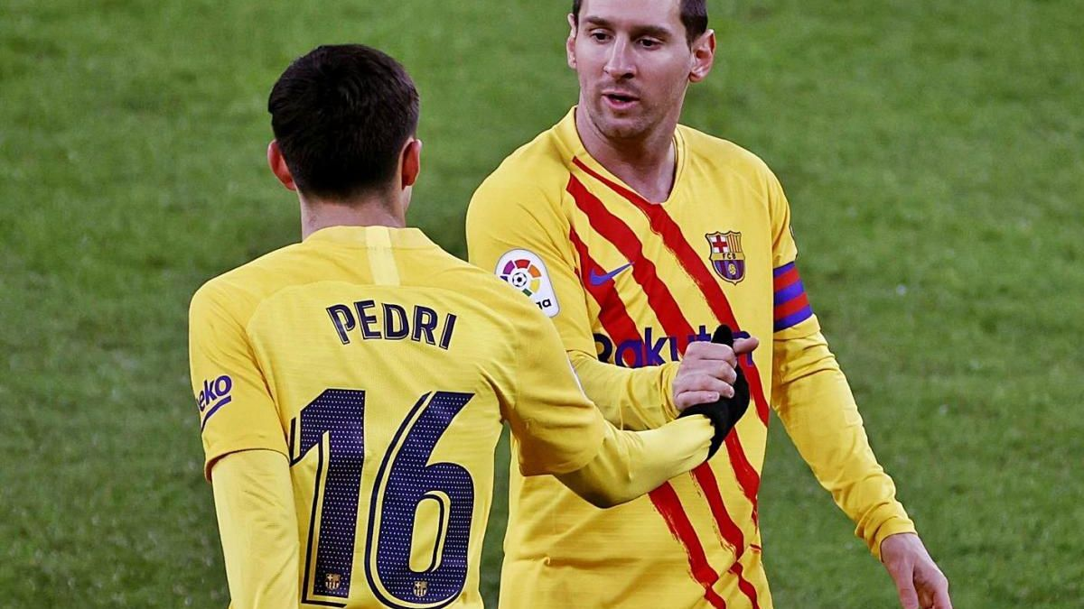 Messi i Pedri van protagonitzar la jugada d'un espectacular segon gol del Barça