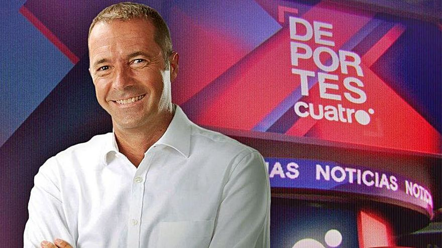 "Manu Carreño presentará ""Deportes Cuatro"" a partir de mañana"