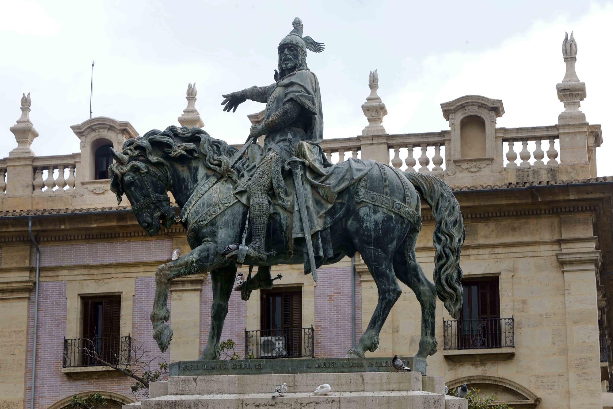 Estatua ecuestre de Jaume l