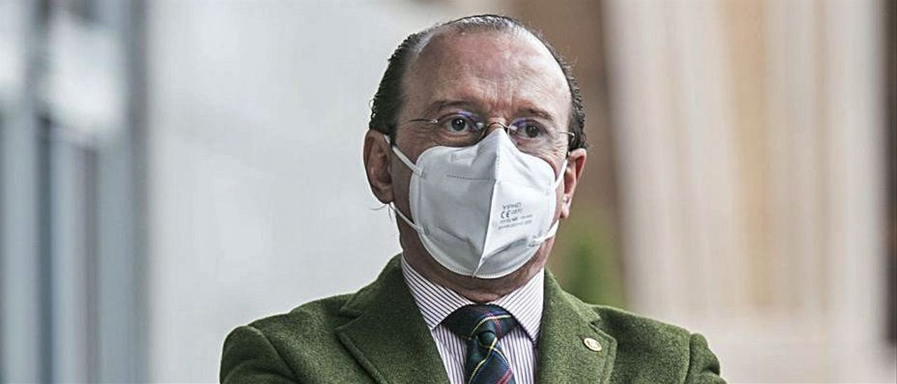 Alejandro Braña, en Oviedo. | IRMA COLLÍN