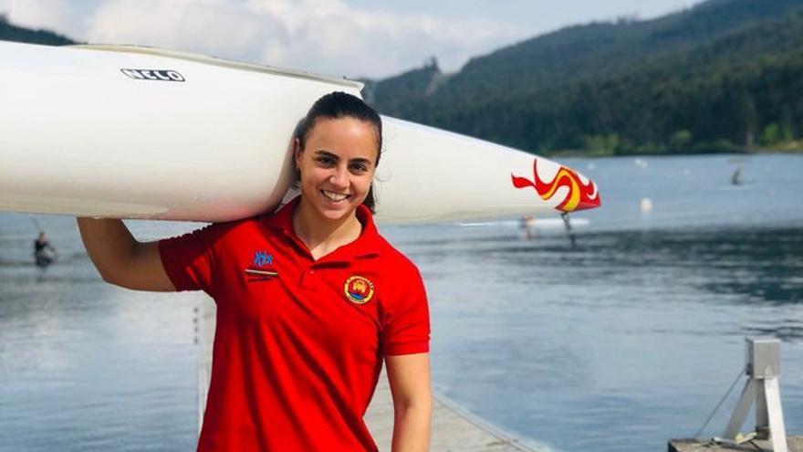 La extremeña Teresa Tirado aspira a una plaza olímpica