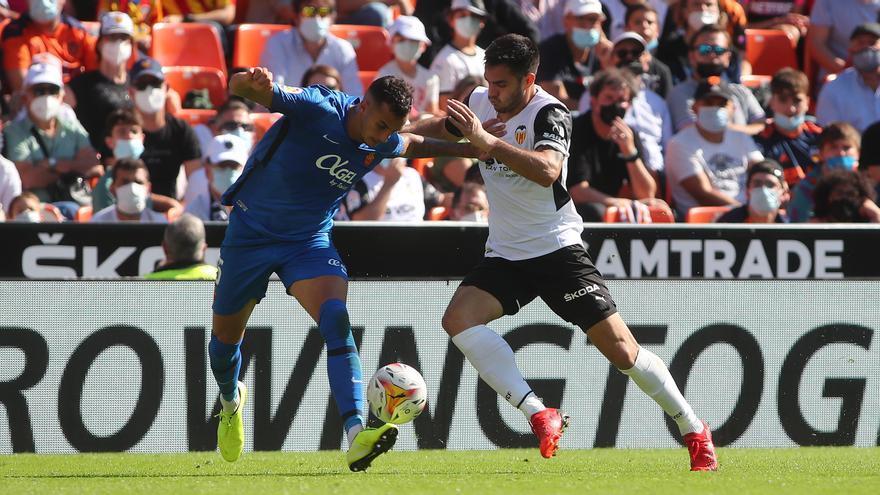 Maxi Gómez, casi descartado contra el Betis
