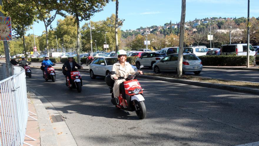 Girona estrena un servei compartit de motos elèctriques que l'empresa Silence vol estendre a ciutats mitjanes d'Europa