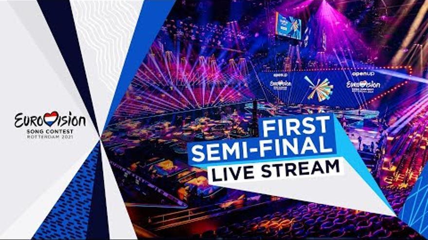 La primera semifinal de Eurovisión 2021, en directo