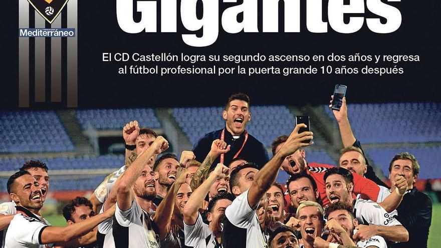 Revive el ascenso del CD Castellón, con Mediterráneo